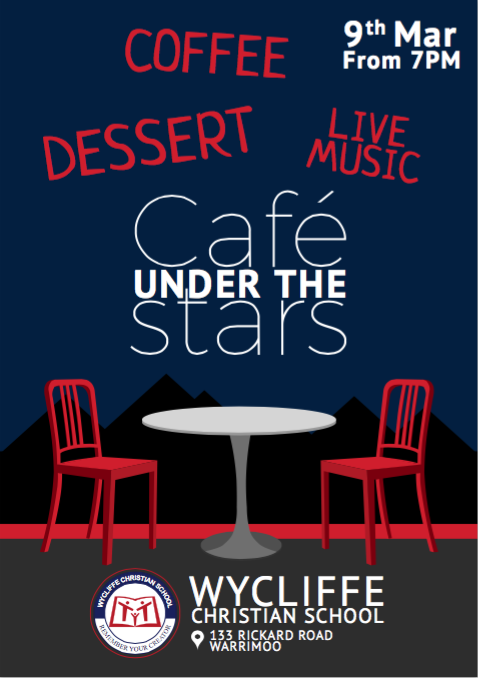 Cafe under the Stars 2016